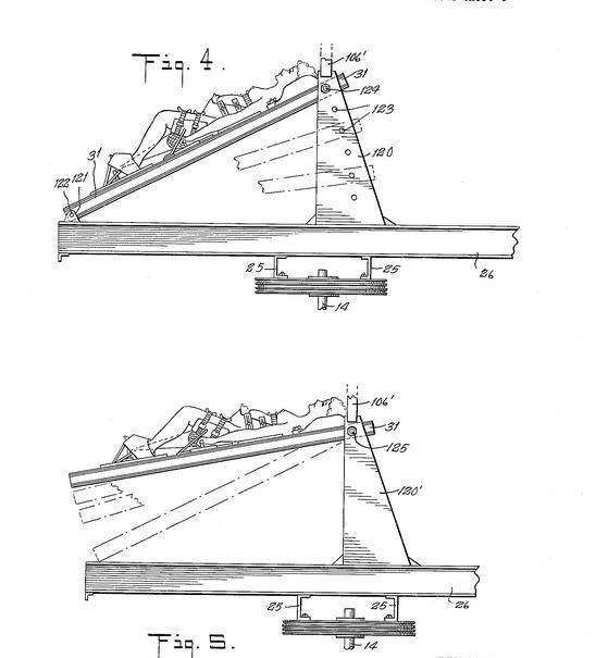 かなりイカれた特許を見つけました。分娩台を高速回転させることで、遠心力で出産を促進するらしいです。 http://t.co/maiK1VHEdQ http://t.co/BxQanESX5R