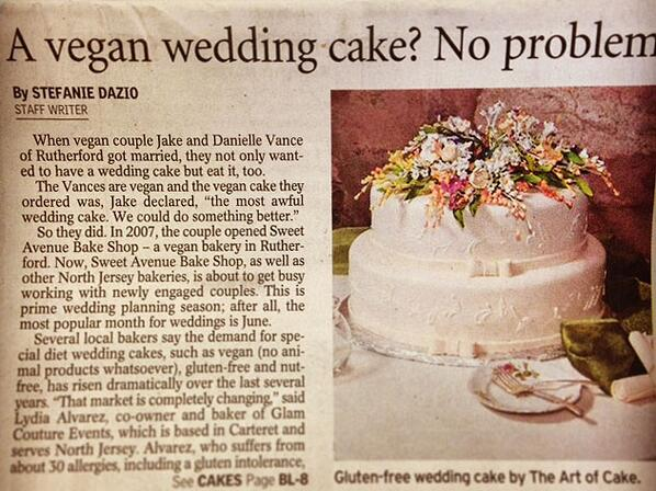 Happy to be featured in the Record today! http://t.co/EnGUpEAemC #vegan #glutenfree http://t.co/rb2vQ0XxB7
