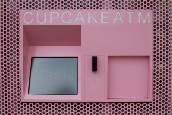 Cupcake ATM Now Serving @Sprinkles NYC: http://t.co/DCBGMz4Lby http://t.co/elLj7Ytif2