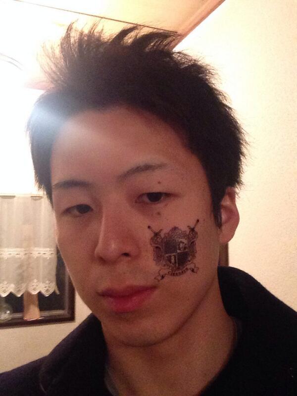 今日のナイスタトゥーはみいさ作( @miisa114 )。毎回凄い!剥がすの勿体無いね。 http://t.co/3d0U9QoYMx