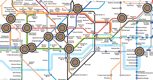 AWESOME - @TfLOfficial are looking for  a 'Head of Art on the Underground' #CoolJob https://t.co/ENlsei8pVW http://t.co/8rSwncsY4F