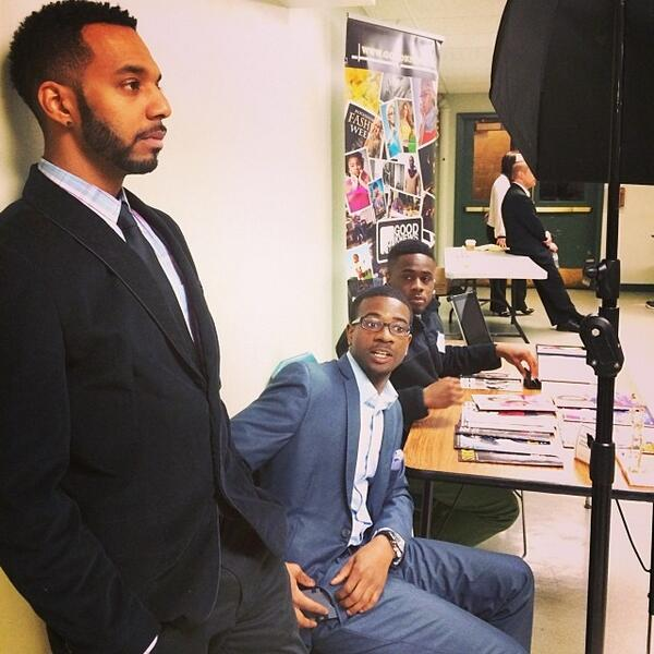 Young black entrepreneurs #goodknews #teamgoodknews #photography #takeover #woh #gzz #theroc #rochester #58... http://t.co/hThBtP75hX