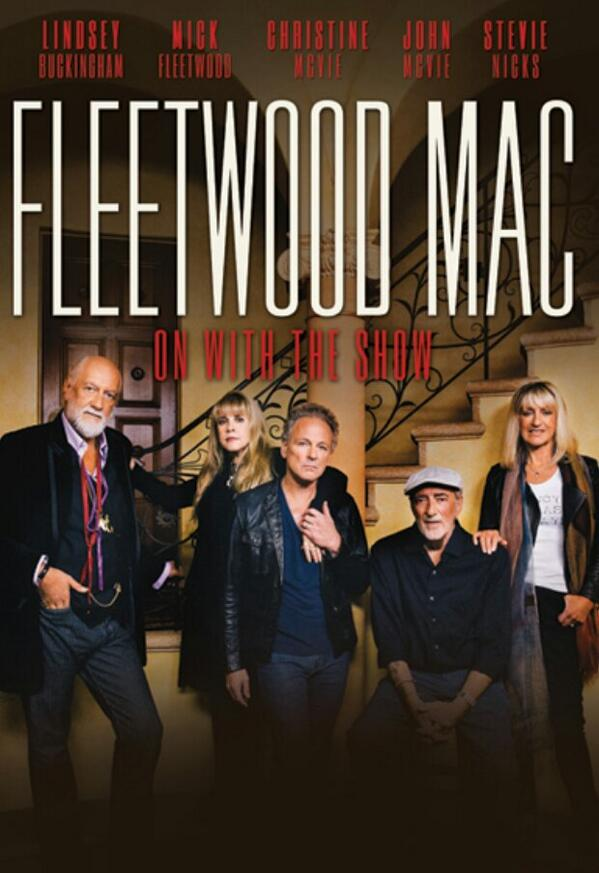 Full on Mac attack! Welcome home Christine McVie. RT if you're excited! @StevieNicks @fleetwoodmac http://t.co/RsJAwBYudh