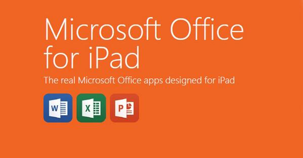Office για iPad, τώρα διαθέσιμο σε όλους δωρεάν http://t.co/RbN9yERCHv http://t.co/ScESwsUkBg