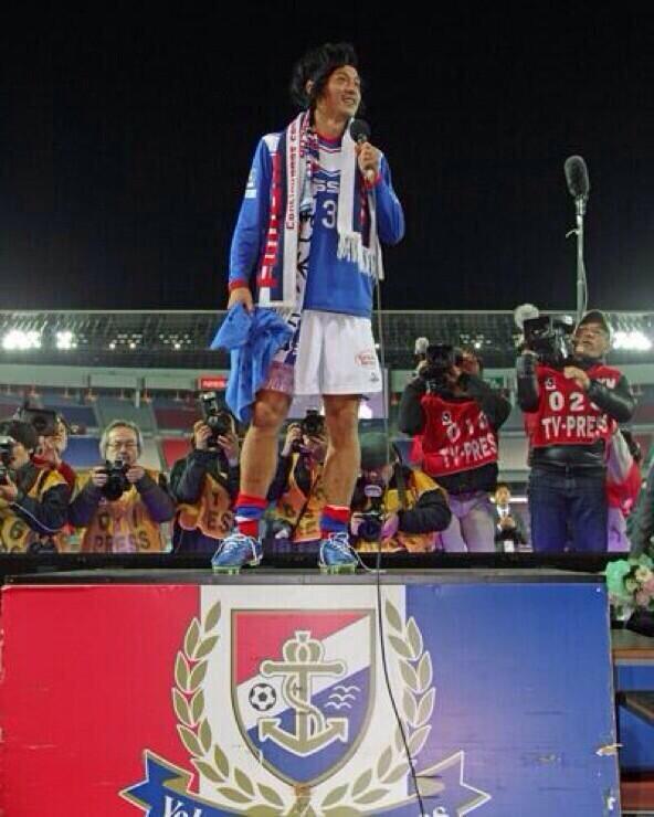 test ツイッターメディア - 「本当にサッカーって最高だし、 まだサッカー知らない人もいると 思うけど、サッカーって最高な ところを見せたいので、 これからも続けさせてください」  by     松田直樹  https://t.co/uK9AB3cXa5