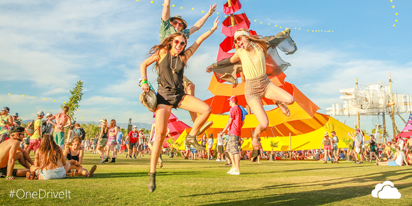 We're coming for you #Coachella2014. See you on the ground. #OneDriveIt #coachellabound http://t.co/OSTyy2X4VC http://t.co/A2VRgVHJna