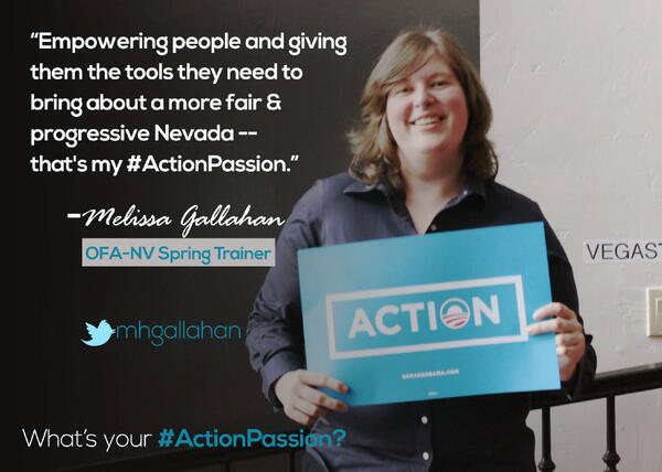 .@mhgallahan=organizer extraordinaire! Donate & help fund the next generation: http://t.co/BwroLjlmlw #ActionPassion http://t.co/5cXfWBZDzZ