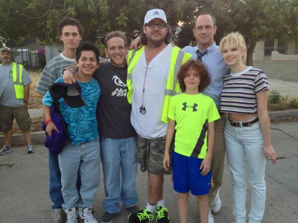Surviving Jack family the last day of pilot. @ClaudiaLeeLive @Chris_Meloni @TylerFoden @senju__ Break a leg tonight! http://t.co/OXOqpT6N5A