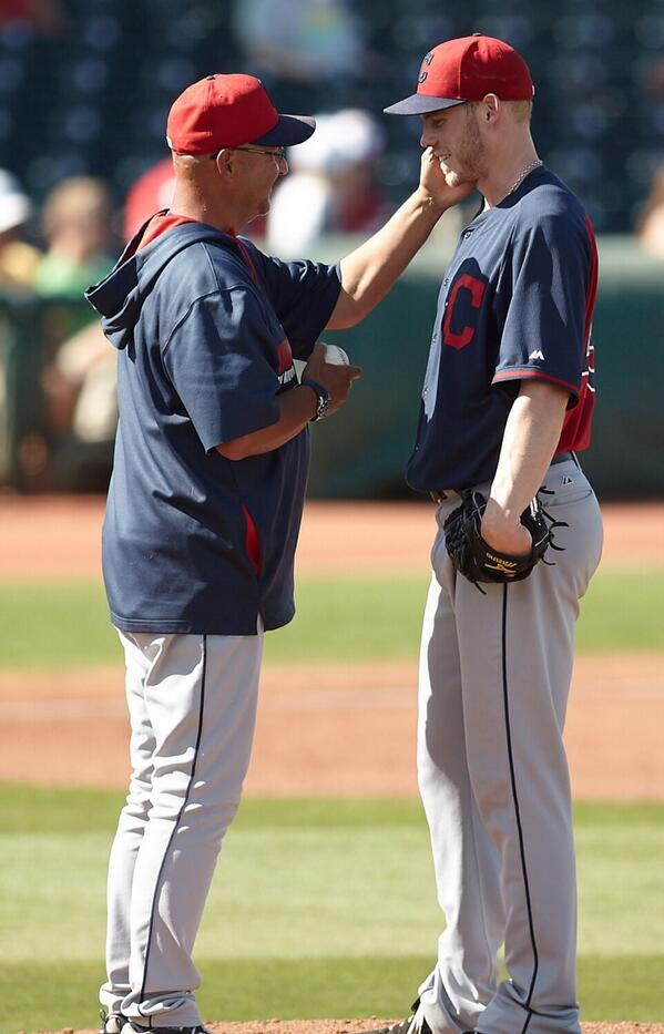 This was a cool moment and classic Tito. He tells Blake Wood that he made club as he takes him out a few days ago. http://t.co/XKHVLA875F