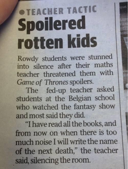 RT @BooksLIVESA: One of those times being a reader really paid off:    #GameofThrones http://t.co/iJhnhQPPGn