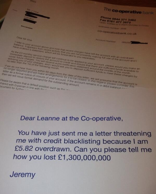 Please could someone @TheCooperative pass this on to Leanne in Lending: http://t.co/jOTPjegVRa