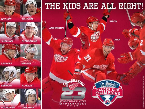 Congrats @DetroitRedWings on the 23rd straight playoff berth! http://t.co/G8vweX7Txi