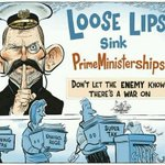 RT @otiose94: #Auspol #Freespeech, Loose Lips sink PrimeMinisterShips by @davpope © http://t.co/vlHkQXQojK #abc730