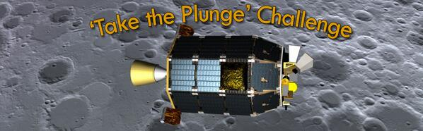 Can you guess the day & time when @NASALADEE will impact the moon? 'Take the Plunge' now: http://t.co/PfOliaQJ2E  http://t.co/zEJTGABPyy