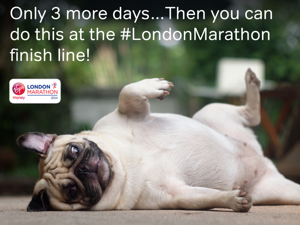 Not long to go now! #extramile #LondonMarathon http://t.co/ZgOA3NTogp ^EM http://t.co/l6G4qgprYy
