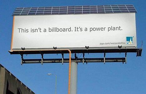 """This isn't a billboard. It's a power plant."" #solarenergy #solar #zonnepanelen #zonenergie http://t.co/yNxHLfSJ6o"
