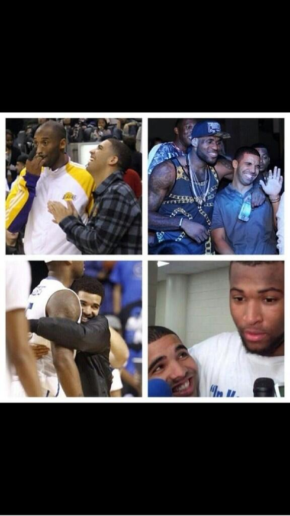 Drake desperately wants to be a basketball wife... http://t.co/HVzCnLIMCT