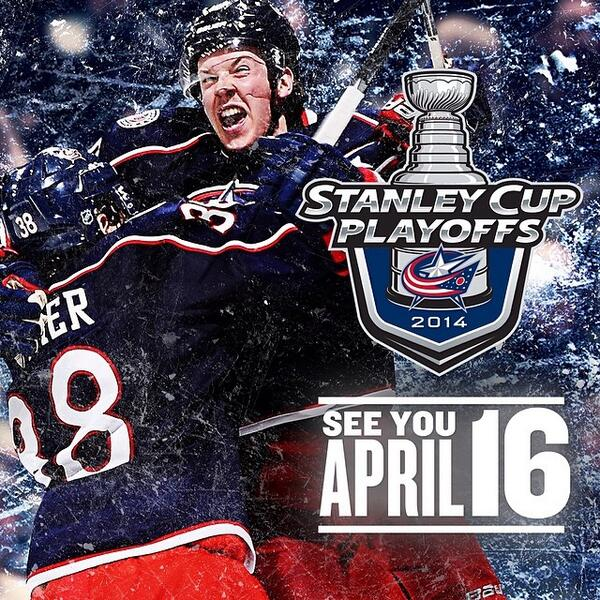 Congrats to the @BlueJacketsNHL for clinching a spot in the #NHL playoffs last night! #cbj #ohio http://t.co/HXYWlWwlXB