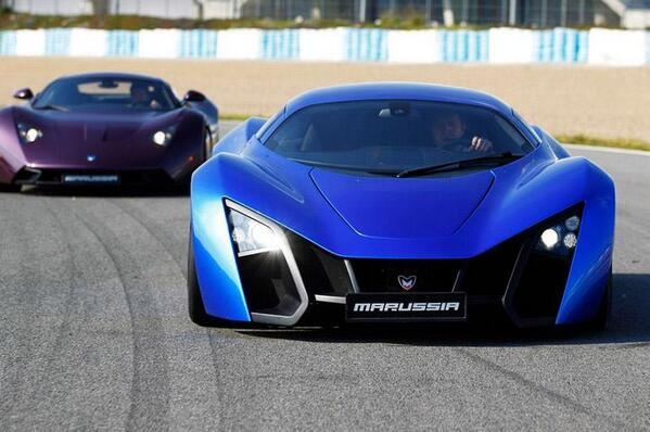 Marussia B1 and B2 http://t.co/zCuZ67iLJc
