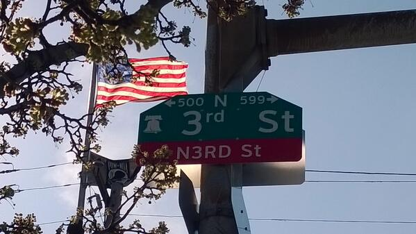 N3RD ST, Philadelphia, Pennsylvania, United States of America #fuckyeah http://t.co/3a3eB4X9zb