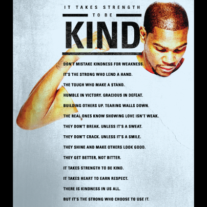 Recognize someone #strongandkind & take the pledge for a chance to win an exclusive poster http://t.co/qDYC8AmdWv http://t.co/Fcgwz57hQ8