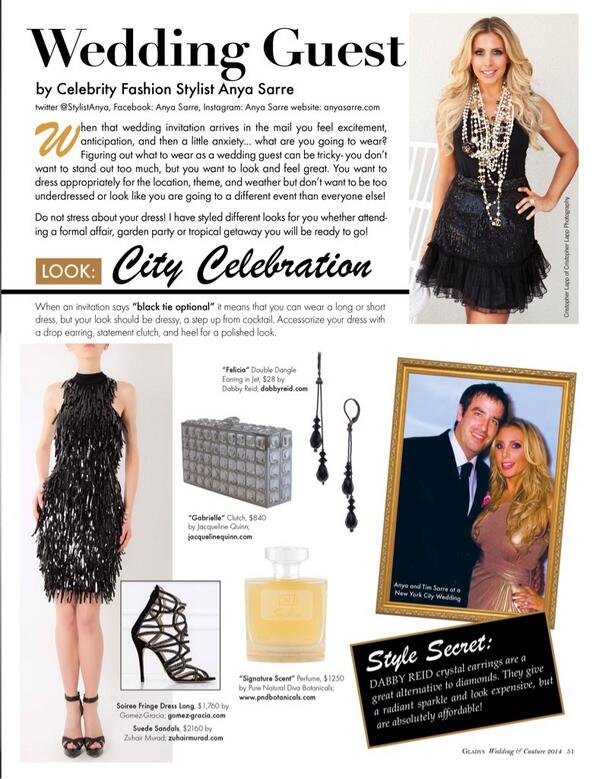 My advice on what to wear to a #CityCelebration Wedding! @gladysmagazine #Wedding and #Couture issue on stands now! http://t.co/EapfNXIDdg