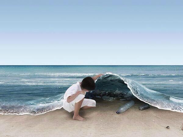 A brilliant artistic picture with a serious message! http://t.co/rwrDsJyEaz