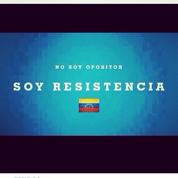 RubiTo (@Rubito_ve): Como ven a la oposición como un solo paquete es que somos #resistencia . http://t.co/NXZR5F1K2H