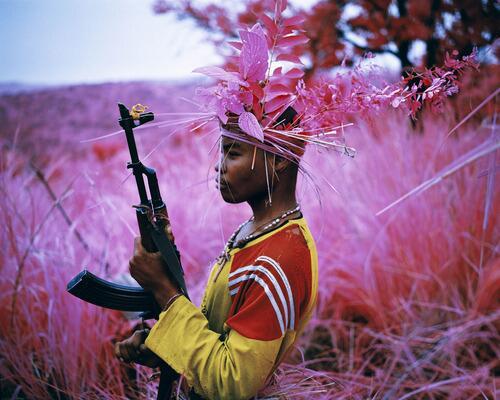 Can war photography be beautiful? http://t.co/6avSFL3qYq / @IrelandVenice @foam_amsterdam #richardmosse http://t.co/23K4Editjx