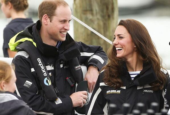 Kate crowned queen of the ocean after beating William in a yacht race, sporting MUSTO BR1 Jackets! #RoyalVisitNZ http://t.co/tFn7goGlpf