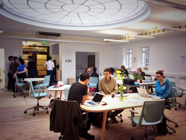 And... the fourth HUB in London is officially OPENED! @HubBrixton http://t.co/NyIy8GIkFj