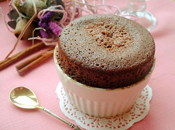 Шоколадный кекс в микроволновке с фото