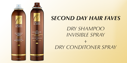 Want our second-day hair faves? RT to WIN #OscarBlandi Invisible Dry Shampoo & Dry Conditioner! http://t.co/f5yZebtJoC