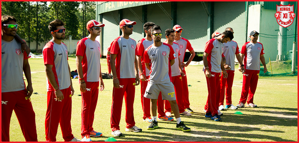 """""""@lionsdenkxip: Our boys after a hard day's training. For exclusive KXIP videos, http://t.co/HD7PoJqCIM"""" @virendersehwag :-)"""