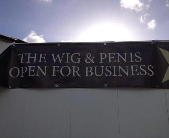 The importance of kerning summed up in one glorious picture.   On that note, we're done. Over&out. Enjoy your wkends! http://t.co/mVqCZCom3N