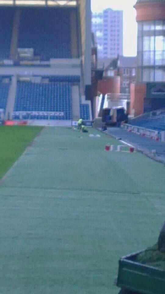 The @ScottishFA have checked out claims of pitch narrowing at Ibrox and confirm that it is categorically not the case.http://t.co/geyKHhvE0S