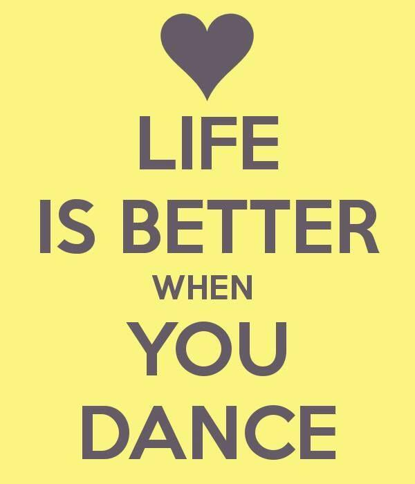 Retweet if you agree that life is better when you dance! http://t.co/noPizObImE