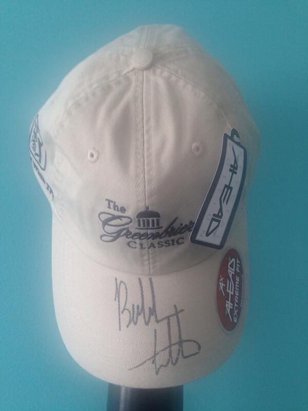 In honor of @bubbawatson's bogey-free round yesterday, we are giving away a signed hat from #Bubba! RT to WIN!! ⛳️ http://t.co/5bLLrJlBEf