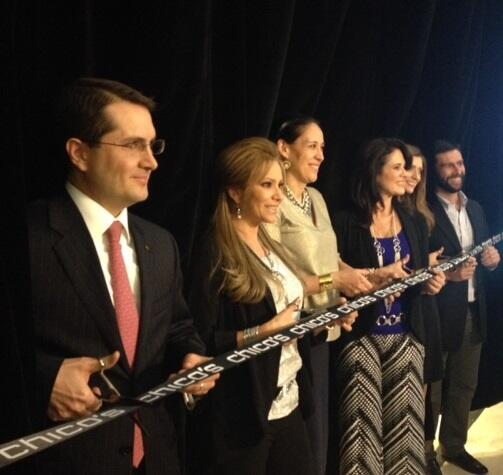 Ribbon-cutting at our global premier with @dannycastro17 and @ebuenfil #GrandOpening #MexicoCity http://t.co/ARelIoUQ4I
