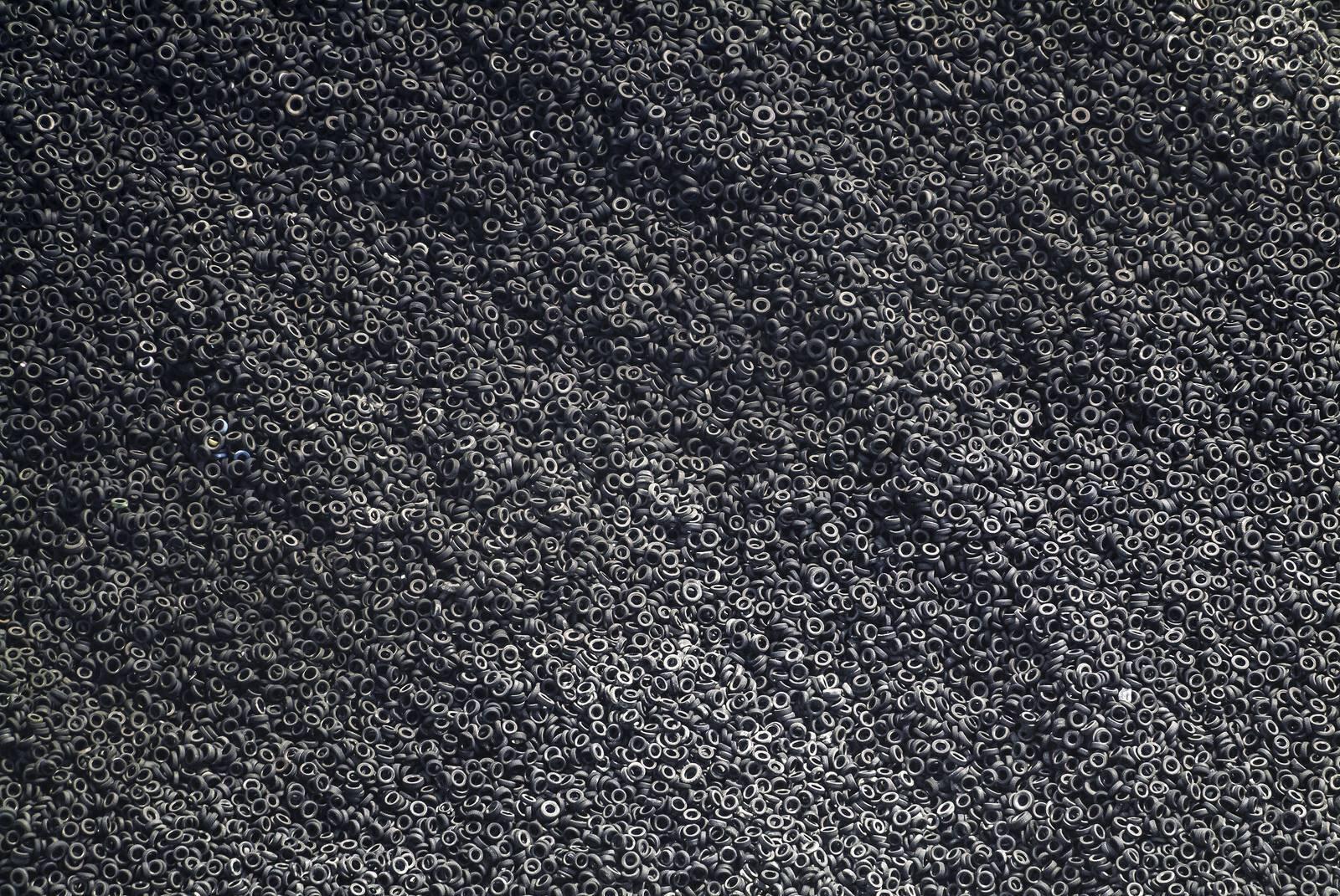 Aerial view of a scrap tire dumpyard. http://t.co/mI8C4v3xkY
