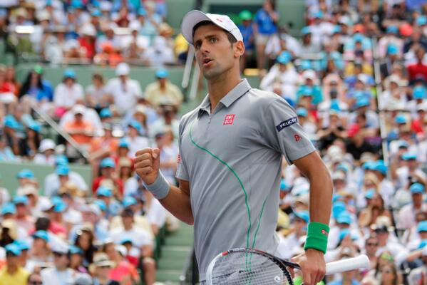 Game! Set! Match! Tournament! @DjokerNole captures his 4th #SonyOpenTennis title! Defeats #Nadal 6-3, 6-3! http://t.co/lmkQ65quOw