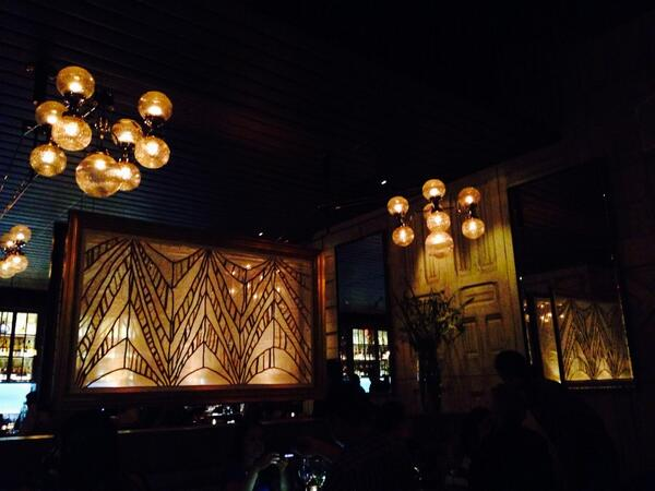 At beautiful new DTLA resto, @faithandflower  Garlic soup is da bomb, as is the broccolini w/ anchovies & garlic. http://t.co/Y8yDP6UuNu