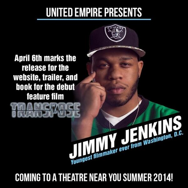 Don't need to say much... Let's get it! @JimmyJenkinsUE @_unitedempire #TransposeTheMovie #staytuned. http://t.co/pT2EXFcIw1