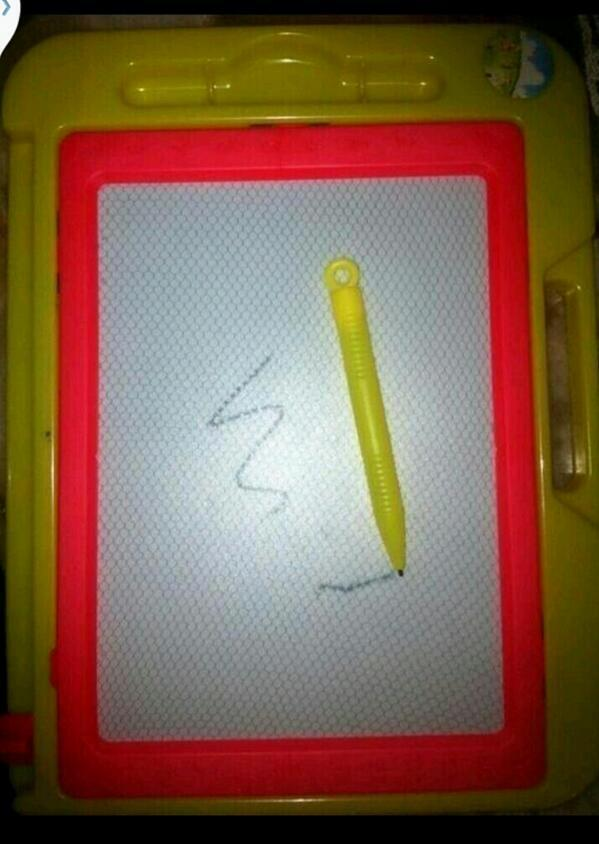 En mi infancia para mi esto era un iPad. http://t.co/yp8XafMyVA