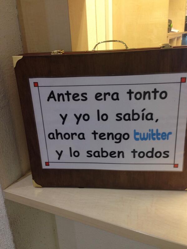 Mola ver esto en un colegio http://t.co/eZjuMEtqiU