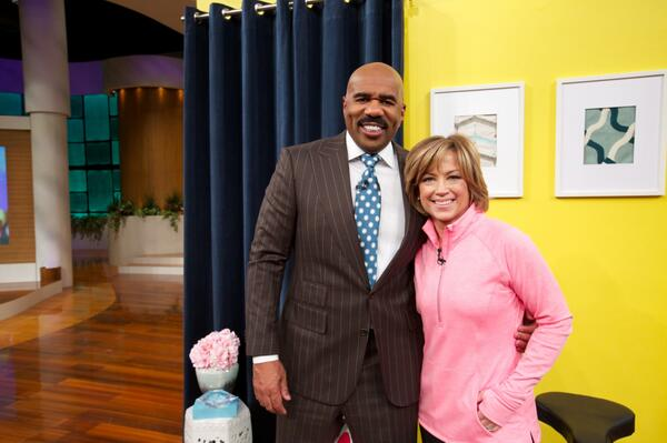 Had a blast giving #SitNCycle a whirl w/ @IAmSteveHarvey! Don't miss our ride on his show today. Check local listings http://t.co/l80eeeVkN4