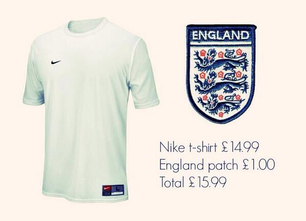 BkDTvx2CAAAOCuU Joey Barton leads the backlash against Englands new £90 shirt: Costs about £2... in some sweatshop [Tweets]