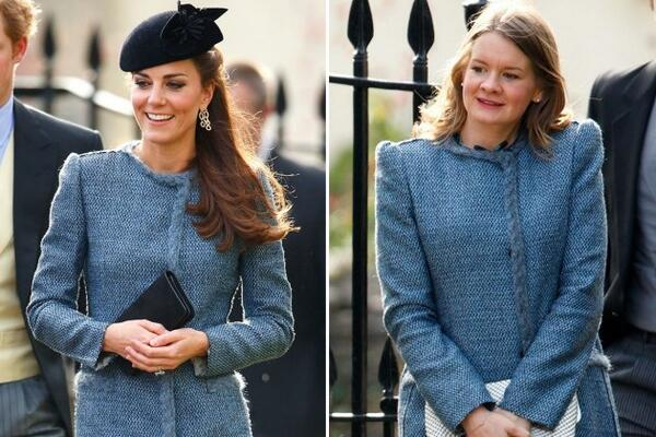 The ultimate fashion faux pas: wearing the same outfit as Kate Middleton at a wedding http://t.co/Nf7S2gTgZP http://t.co/jndW52F8SG