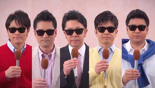 OHKのアナウンサーも、タモリさんへの感謝を込めて。 http://t.co/IS4wqEFCJd