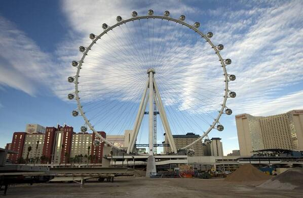 Take a spin: High Roller observation wheel opens today. http://t.co/py9IYtNbJW http://t.co/UuSELQDZU1